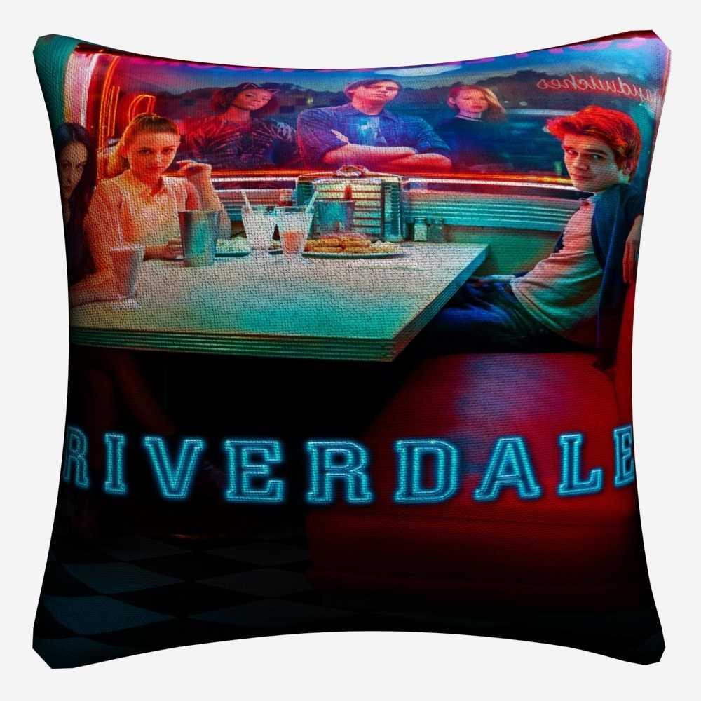 Riverdale Original TV Series Show Decorative Linen Cushion Cover For Sofa Chair 45x45cm Throw Pillow Case Home Decor Almofada