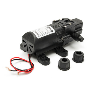 Image 5 - Durable DC 12V 130PSI Agricultural Electric Water Pump Black Micro High Pressure Diaphragm Water Sprayer Car Wash 12 V