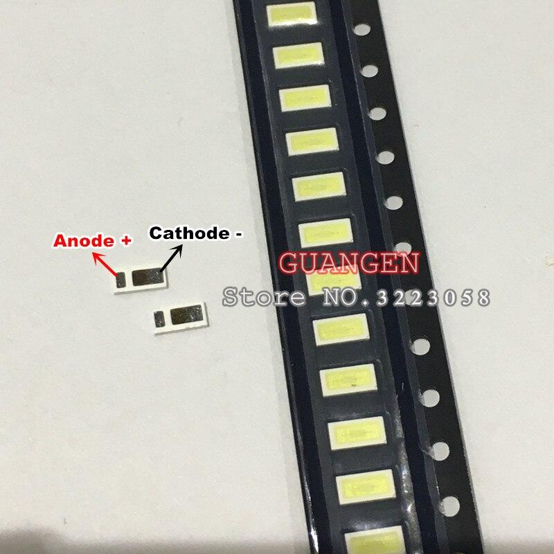 1000PCS Original LED for EVERLIGHT 4020 0 5W 3V 48LM 150MA Cold White SMD Lamp bead