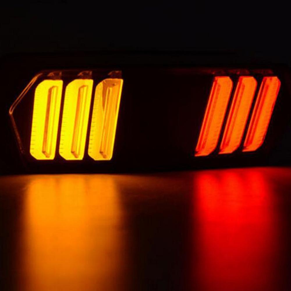 Motorcycle Turn Signal LED Light Running Brake Stop Indicators Lamp For Honda MSX125 Intermitentes Moto Motorcycle Accessories