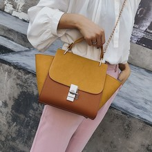 2019 PU Leather Suede Luxury Handbags Women Bags Designer Ladies Large Shoulder Messenger For Bag High Quality