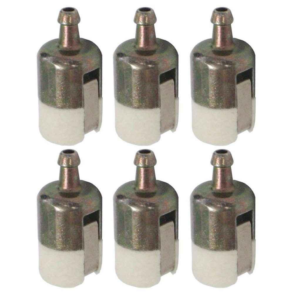 Cikuso 125-527 Filtro de Combustible 13120507320 13120519830 para Recortadora de Cadena de Eco//Laminador//Mochila Soplador Paquete de 6