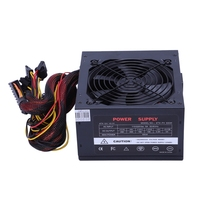 170 260V Max 500W Power Supply Psu Pfc Silent Fan 24Pin 12V Pc Computer Sata Gaming Pc Power Supply For Intel For Amd Computer