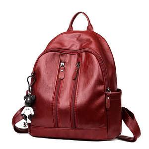 CANIS Mini Shoulder Bag girl Black small backpack female 50f3f55832204
