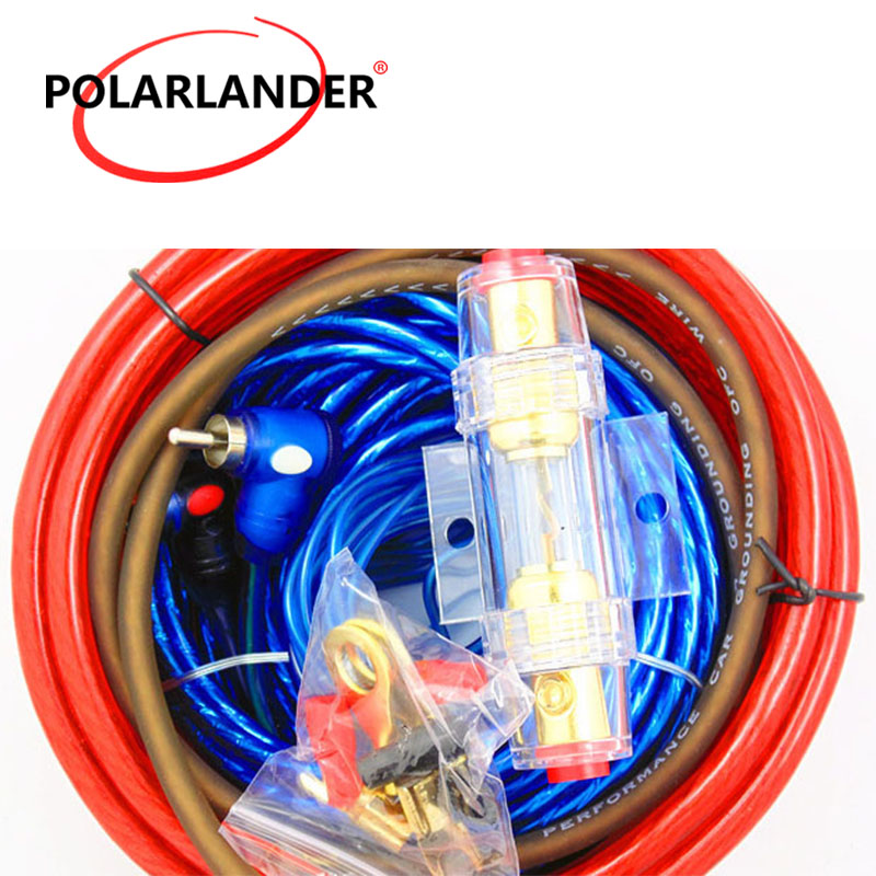 amplifier subwoofer speaker installation kit car audio wire wiring 8ga power cable 60 amp fuse. Black Bedroom Furniture Sets. Home Design Ideas