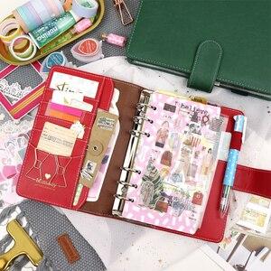 Image 1 - MyPretties سيرين الموثق دفتر a5 a6 جدول مخطط مجلة DIY الرجعية المنظم المدرسة القرطاسية