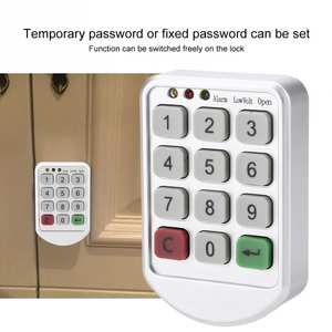 ABS Plastic Panel Digital Electronic Intelligent Password Keypad Number Cabinet Door Code Lock fechadura digital smart lock