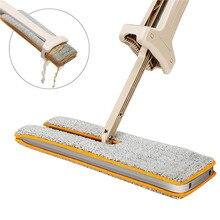 360 градусов двухсторонняя не Ручная стирка плоские швабры деревянный пол Швабра пыль толчок Швабра инструменты для уборки дома