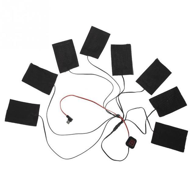 3 scelte USB Rilievo di Riscaldamento Elettrico 3 Gear Regolabile FAI DA TE Abbi