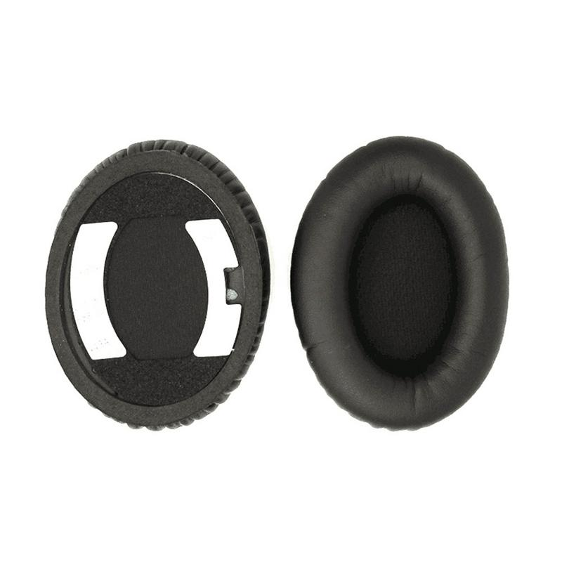 Image 4 - Soft Foam Leather Earphone Cap Comfortable Smooth Headphones Pads Durable Replacement Headsets Cover Cushion For BOSE QC15 QC2-in Earphone Accessories from Consumer Electronics