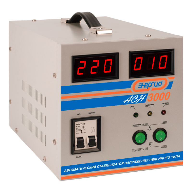 Voltage stabilizer Energy ASN-3000 energy