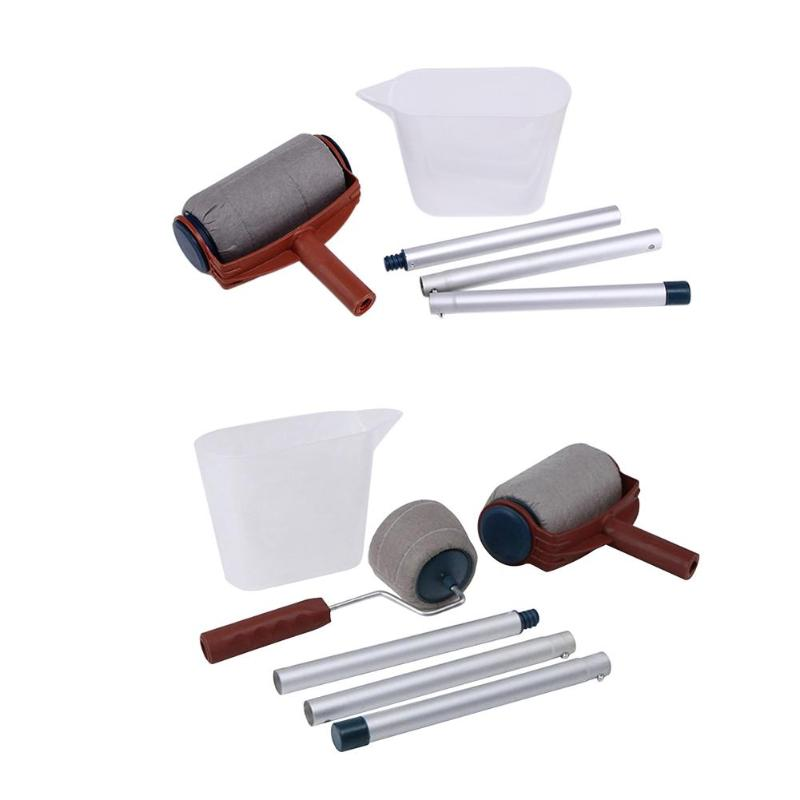 5pcs/6pcs Professional Paint Roller Kit Decorating Painting Brush Runner Tool Set for Home Room Wall Paint Painting DIY Craft5pcs/6pcs Professional Paint Roller Kit Decorating Painting Brush Runner Tool Set for Home Room Wall Paint Painting DIY Craft