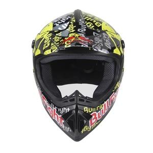 Image 3 - 高品質オートバイヘルメット保護 capacete オートバイ女性 & 男性オフロードモトクロスヘルメット承認