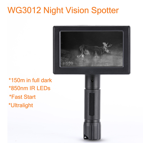 WILDGAMEPLUS WG3012 Wild Game Cameras 1.2 Flux Lens IR NV Hunting Spotter as Night Hunting Product Pakistan