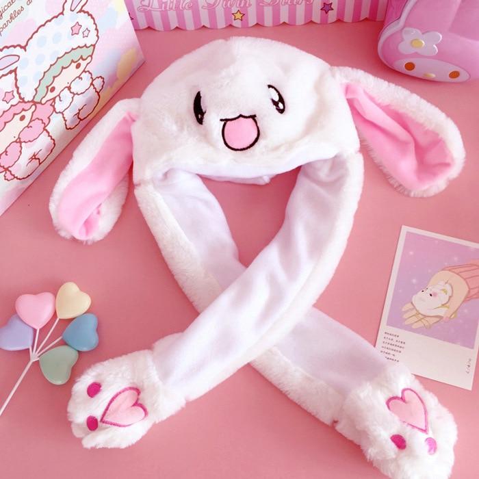 Pinching Movable Action Figure Plush  Stuffed Toy Rabbit -3022