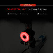 Bicycle Tail Light Bike Rear Light Taillight USB Rechargeable Flashlight Safety Warning Lights Cycling Accessory Bicycle Lights цена в Москве и Питере