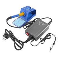 12pcs/set Quick Heating Soldering Station Electronic STC T12 OLED Digital Soldering