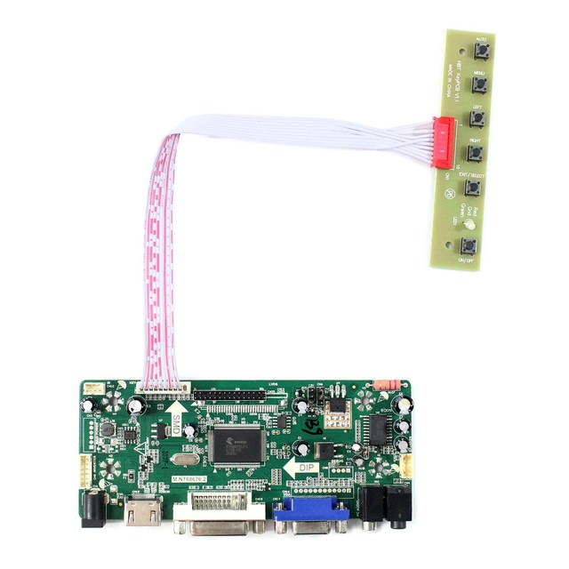 US $22 82 8% OFF|HDMI Audio LCD Controller Board Fit to Arcade 1up DIY  Parts 17