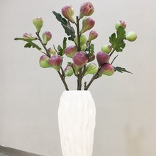 Orchid Jin Artificial Flowers with Good Quality and Retro Decoration Simulated Wholesale Berry Figs
