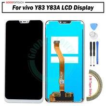 Alta qualidade para vivo y81 y83 display lcd + touch screen digitador assembléia peças de reposição y83a lcd com quadro