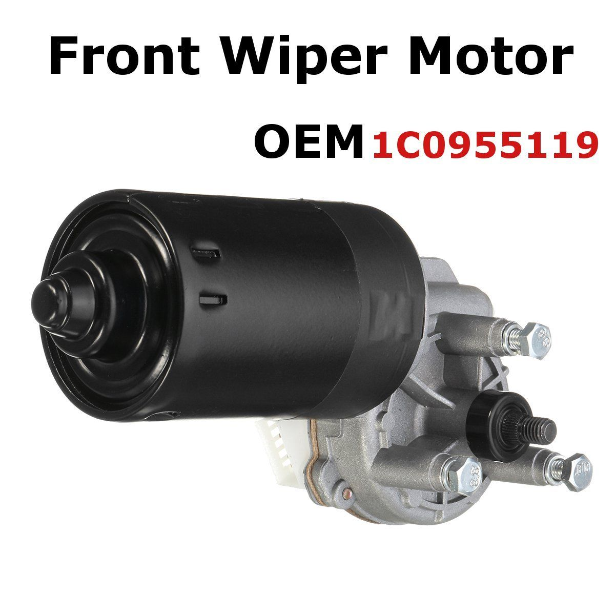 Windscreen-Wiper-Motor Seat Golf New Beetle Audi Skoda for 1pcs Front A3 Passat Bora title=