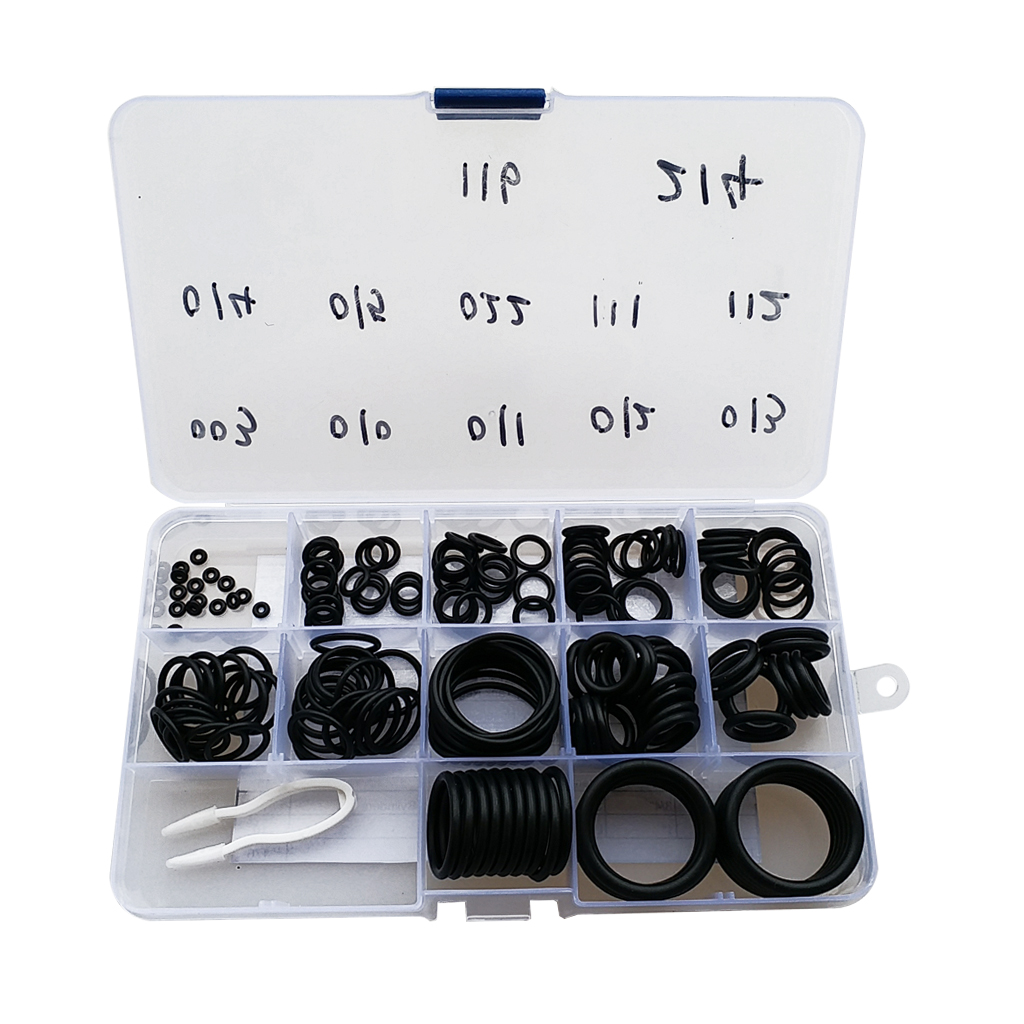 170Pcs Nitrox /Scuba Dive O-Ring Kit12 Sizes 70 Duro Underwater Diving Snorkeling Gear Spare Part Accessories