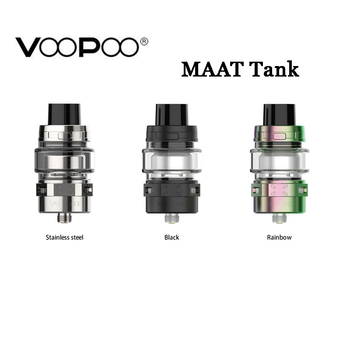 Original Voopoo MAAT Tank Electronic Cigarettes Atomizer 4ML With MT-M1 0.13ohm Single Mesh Coil MT-M2 0.2ohm Coil