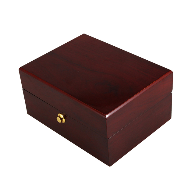 1 unid soporte de almacenamiento de la caja de joya pulsera caso caja de reloj de pintura de lujo Portative para la visualización de