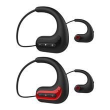 Fones De Ouvido Sem Fio portátil BluetoothWaterproof 4D Cabeça Montado óculos de Natação Esportes Em Execução Fones de Ouvido Estéreo Hd Dispositivo de Som Com Microfone