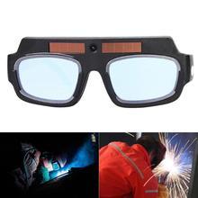 UV Resistant Solar Auto Darkening Eyes Mask Welding Helmet Welding Mask Eyeshade/Patch/Eyes Goggles for Welder Eyes Glasses