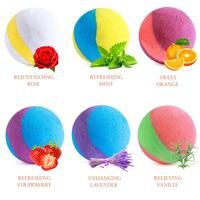 6PCS Bath Bombs Gift Set Organic And Natural Bath Bomb Handmade Birthday Mothers Day Gifts Idea For Her Wife Girlfriend