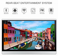 ouchuangbo 12.5 inch Android 7.1 Car Monitor support Eight core Headrest MP3 player 1080