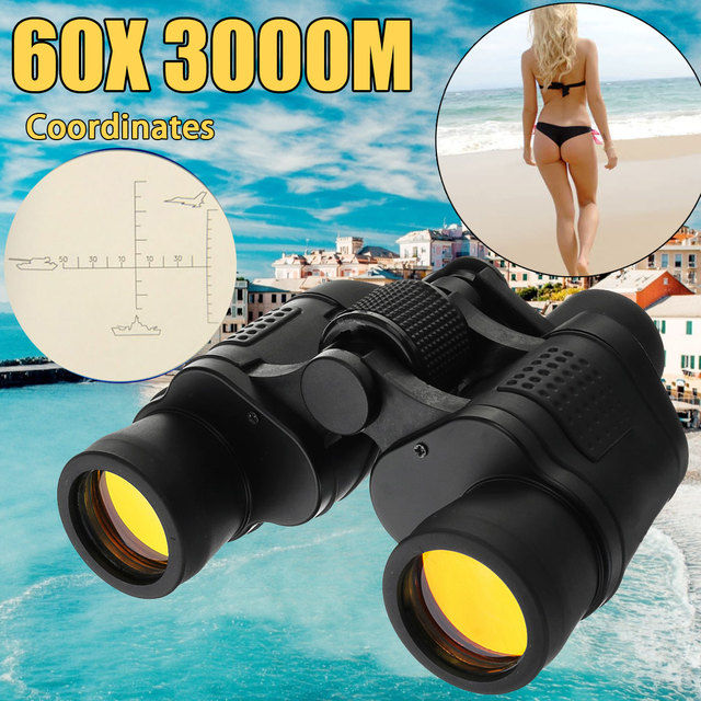 60x60 3000M Night Vision High Definition Hunting Binoculars Telescope HD Waterproof For Outdoor Hunting 1