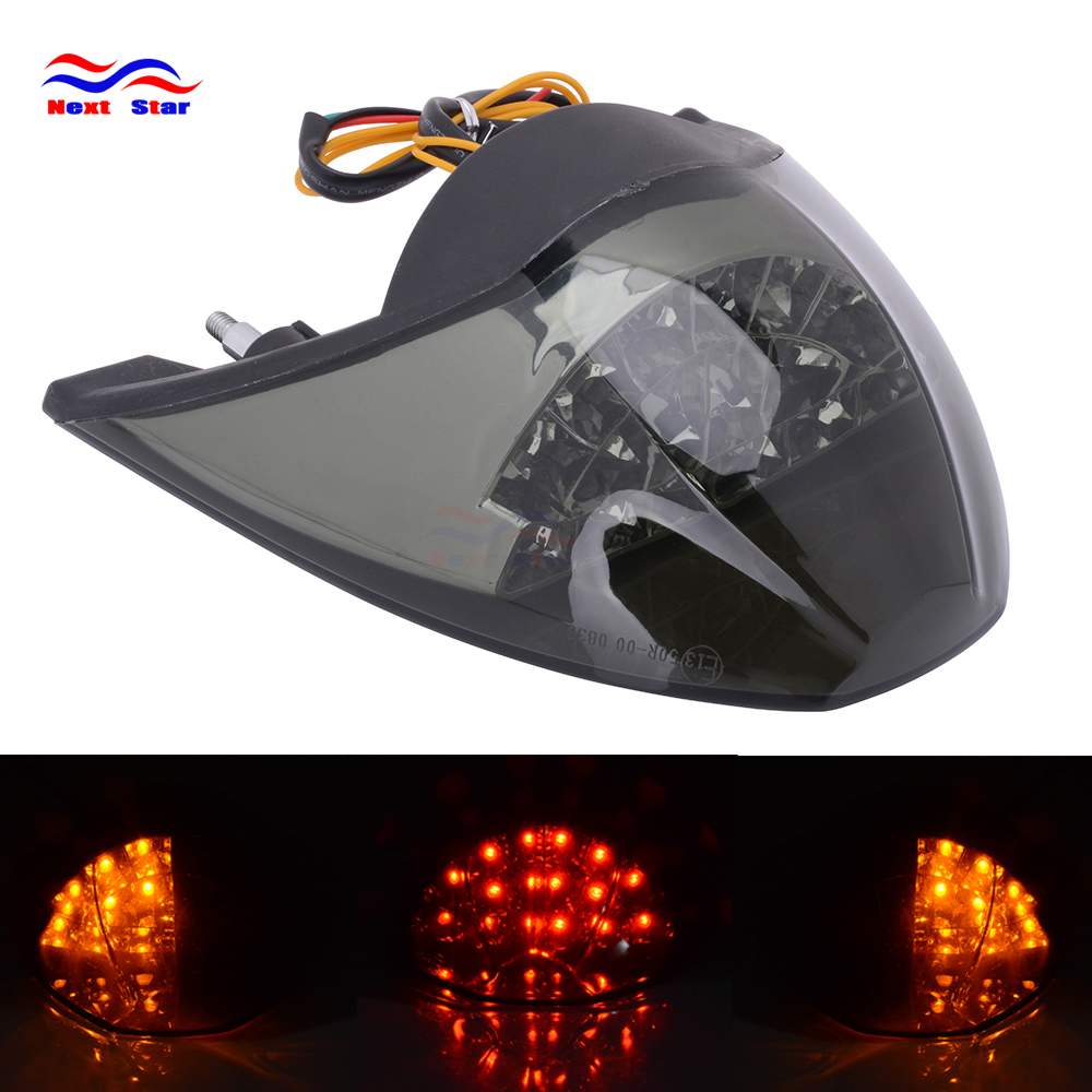Motorcycle Black Rear Tail Light Brake Integrated LED Taillight For KTM 990 690 2005 06 07-08 2009 2010-2011 05-11