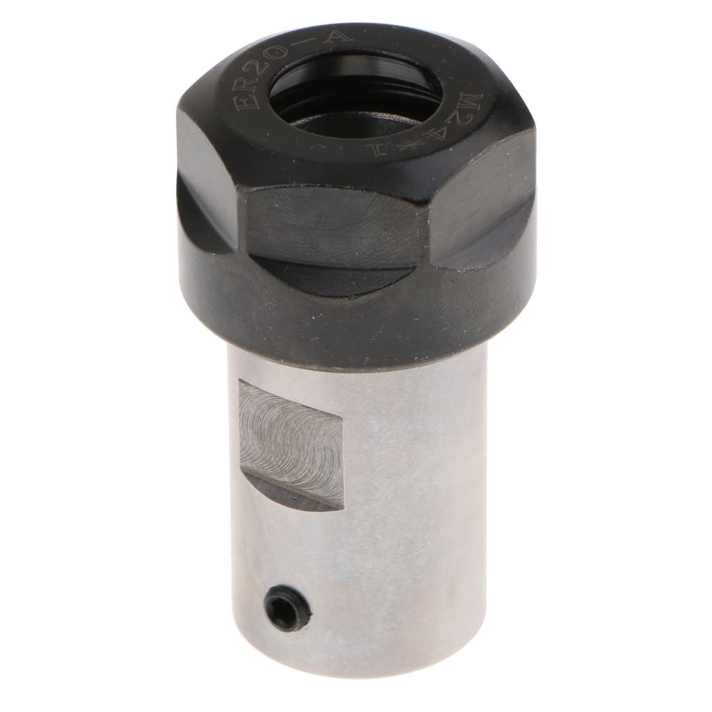 Collet Shaft Motor Chuck Spindle Extension Rod For CNC Milling 8mm Set Durable