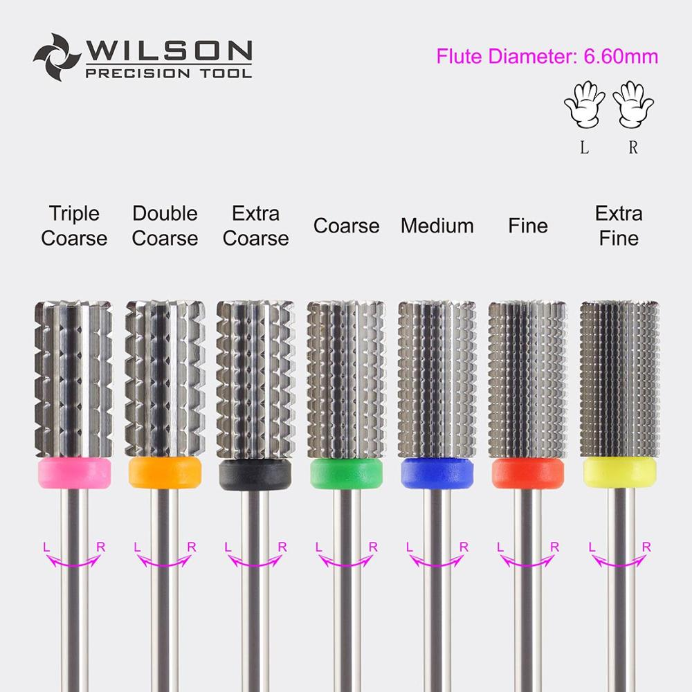3 In 1(Fastest Remove Acrylics Or Gels)-Two Directional(for All Hand Use)-WILSON Carbide Nail Drill Bit/Electric Manicure Drill