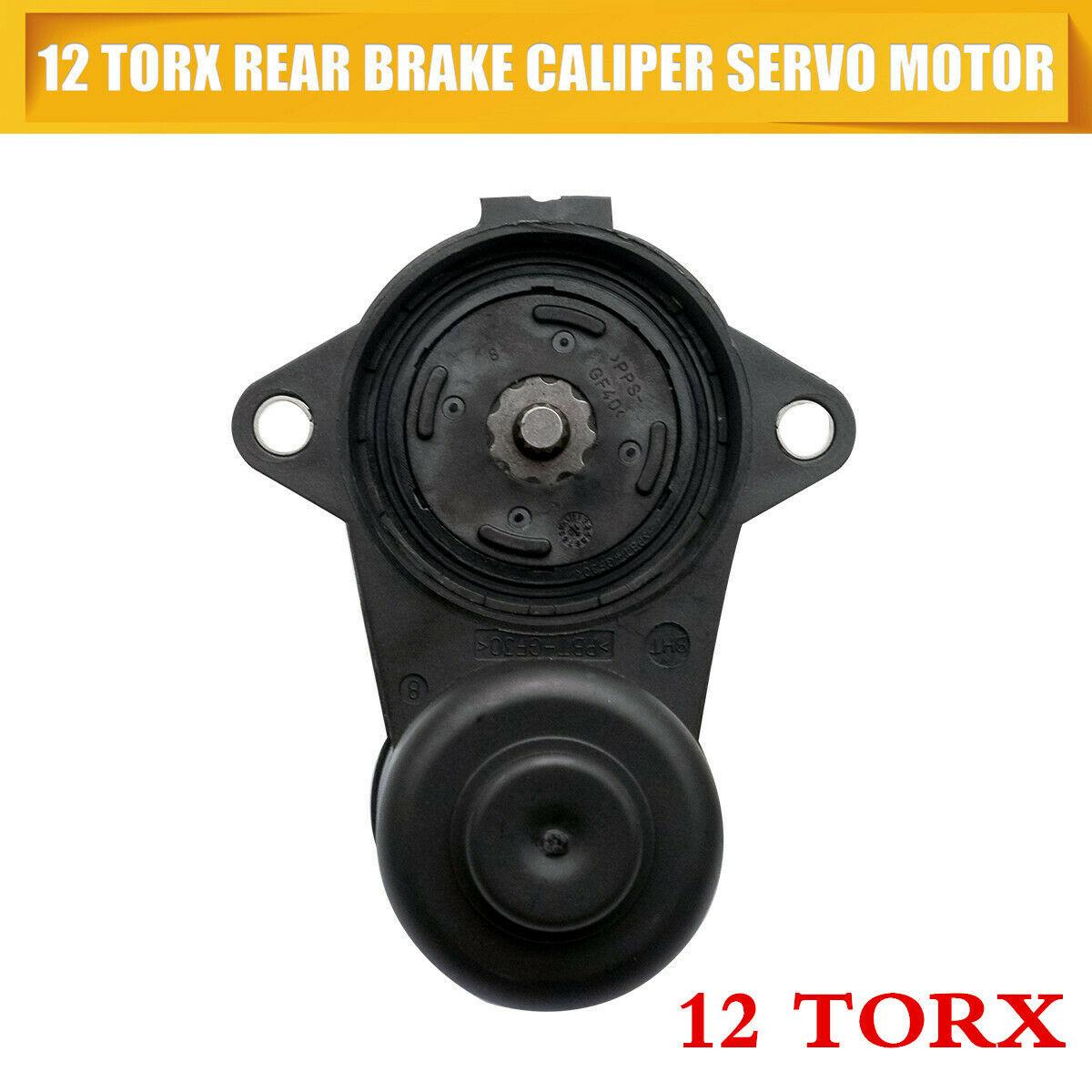 Caliper 12-Torx Motor-Actuator Servo Parking-Brake-Parking-Caliper Rear-Brake Plastic