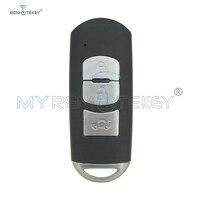 Remtekey New model SKE13E 01 Smart key 3 button 434Mhz for Mazda 3 6 2014 2015 2016 2017 Car Key     -