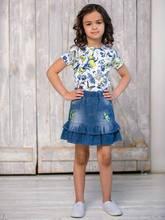 Юбка джинсовая Sweet Berry для девочек