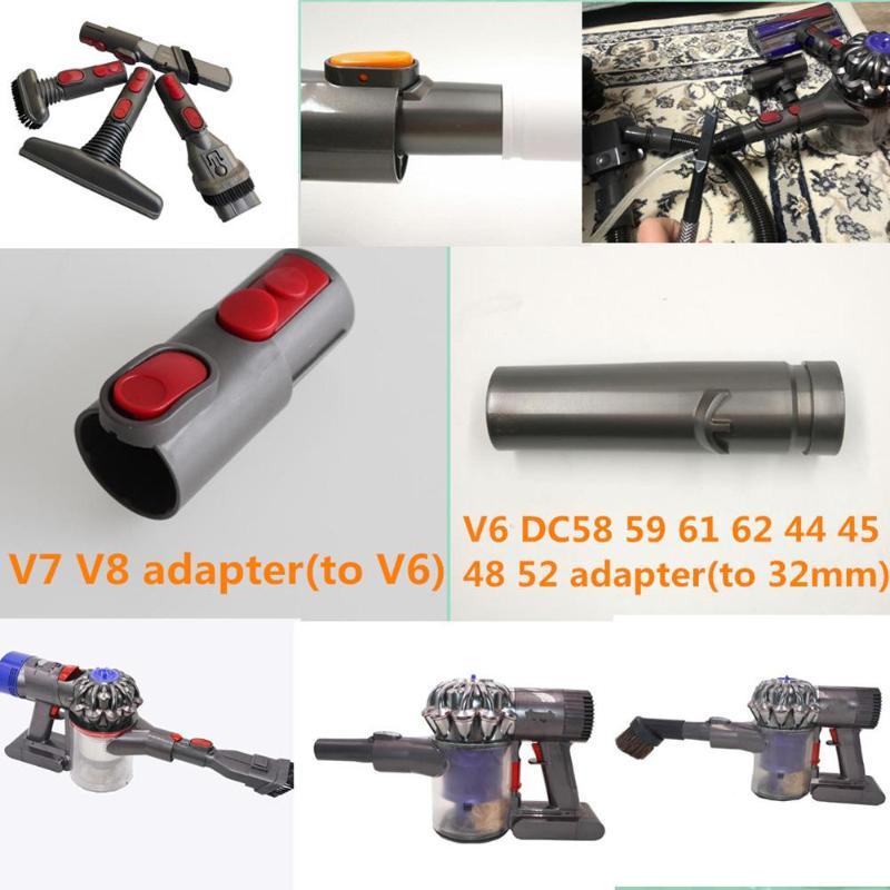 1 шт. 34 мм Универсальный адаптер конвертер для Dyson V6 V7 V8 беспроводной пылесос Запчасти