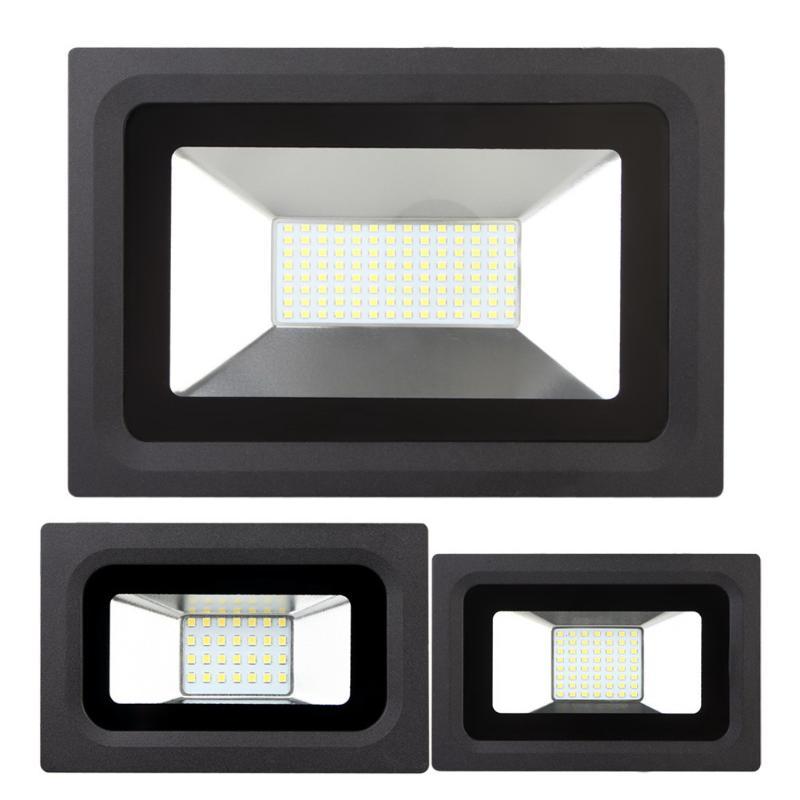 Ultrathin Flood Light IP65 Waterproof 220V Spotlight 60W Warm White