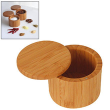 Wooden Spice Shaker Jar Sugar Salt Pepper Herbs Toothpick Storage Bottle BBQ Spice Storage Box with Lid for kitchen accessories(China)
