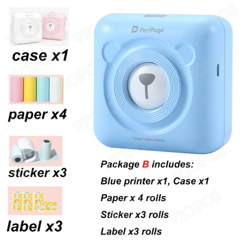 Mini Pocket  Photo Printer For Mobile phone Android and iOS