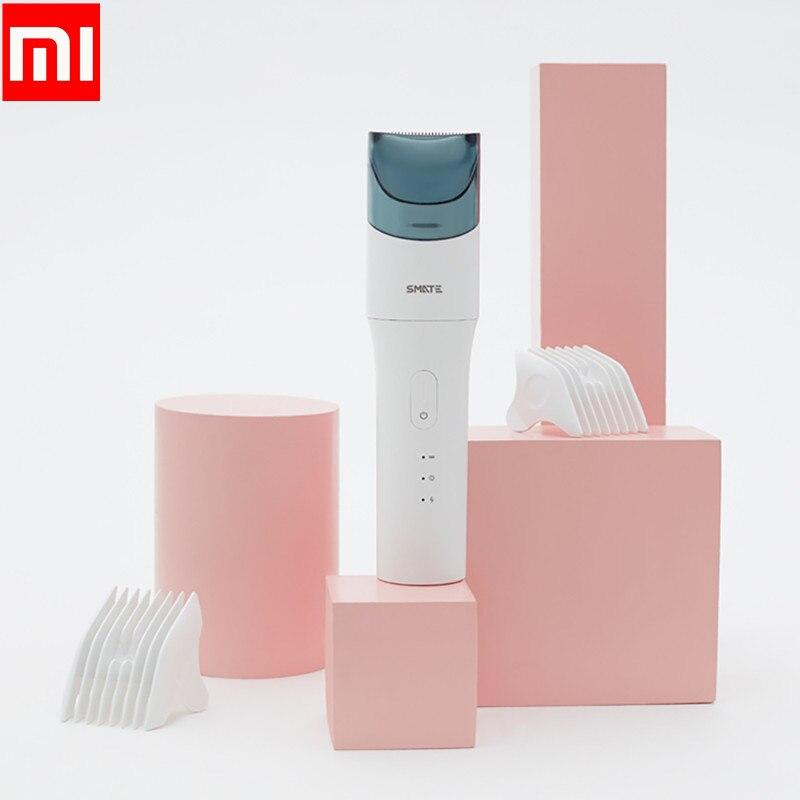 Xiaomi SMATE USB bébé imperméable coupe de cheveux tondeuse électrique Rechargeable enfants Ultra-silencieux automatique tondeuse à cheveux