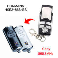 HORMANN HSE2 BS HSE 4 BS 868 MHz remote control garage gate door HORMANN 868.3MHz remote control Learn