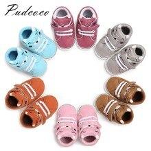 Pudcoco/Новинка года; брендовая домашняя обувь для новорожденных девочек и мальчиков; нескользящая теплая обувь с героями мультфильмов; мягкие Тапочки