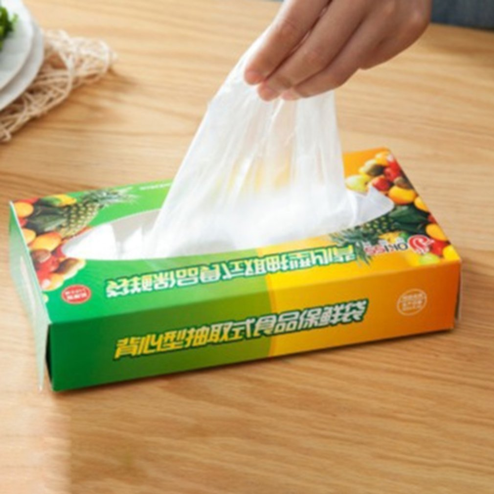 Food-Preservation-Bag Boxed Kitchen Vest Removable Type Thickened Professional