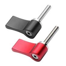 Aluminum L-type Tighten Handle Screw Locking 7-shaped Adjustable knob M5 M4 Screws DSLR Camera