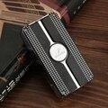 Cohiba зажигалка для сигар 3 факел ветрозащитная газовая огнеупорная реактивная Зажигалка со встроенным резак для сигар