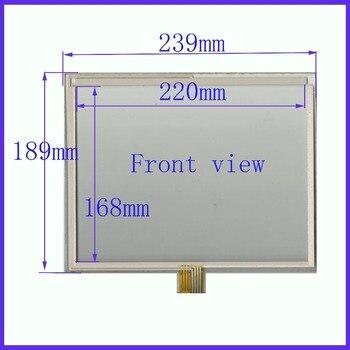 ZhiYuSun wholesale  239*189mm suitable  2pcs/lot 8lines resistance screen  this is compatible blass suitable